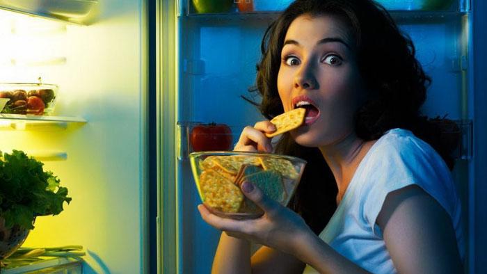 ест на ночь