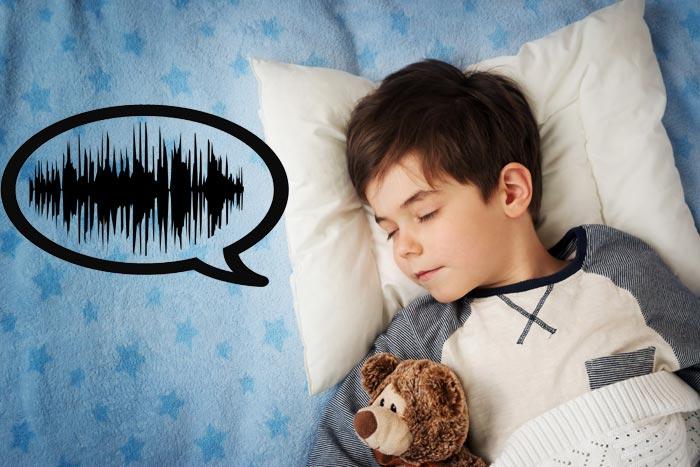ребенок говорит во сне