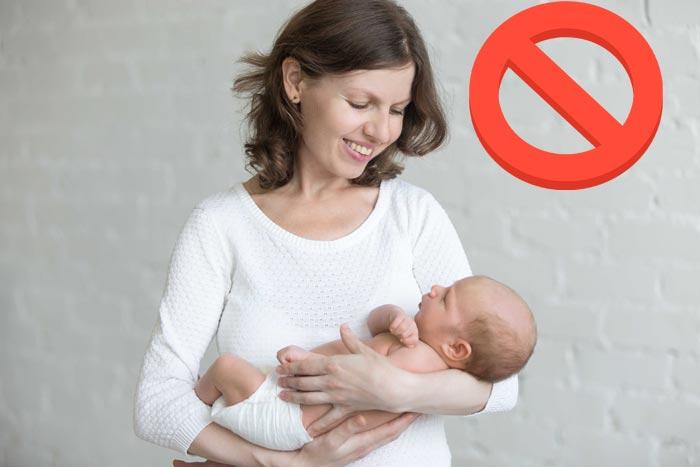 не качать ребенка на руках