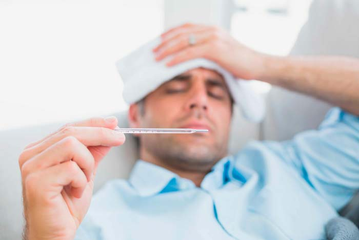 температура у мужчины