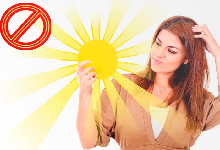 держит солнце