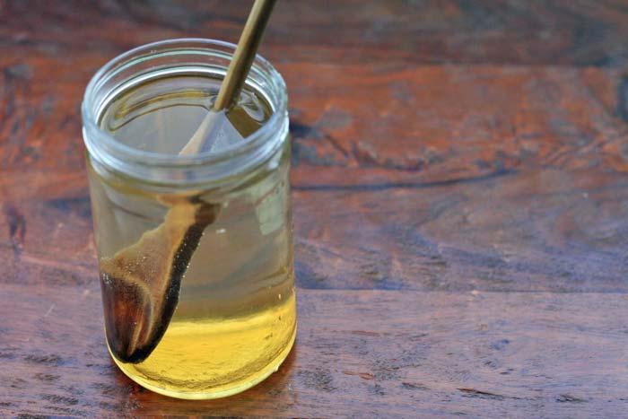 вода с медом