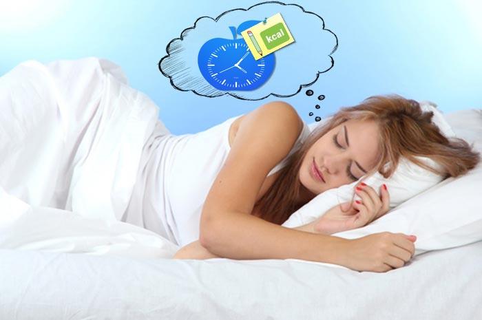 Сколько калорий сжигается во сне?