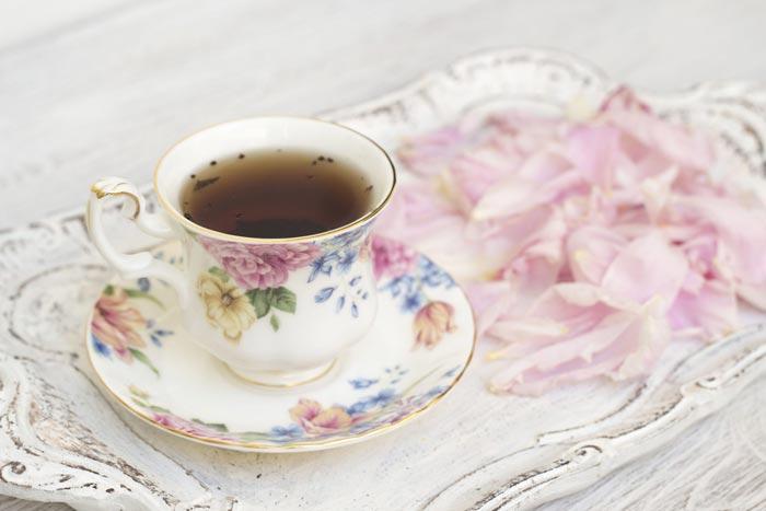 чай с пионом