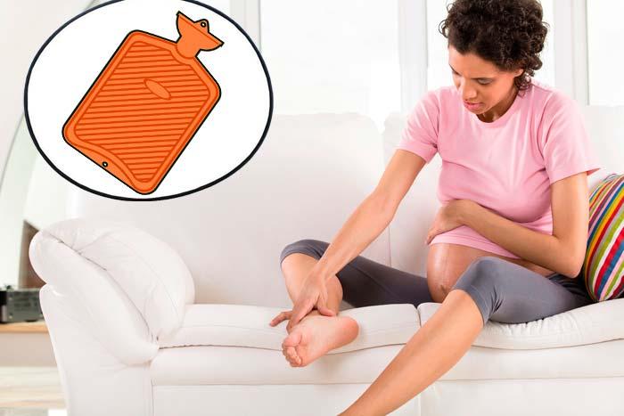 грелка для ноги